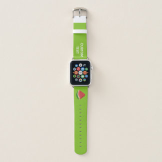 Watermelon slice apple watch band