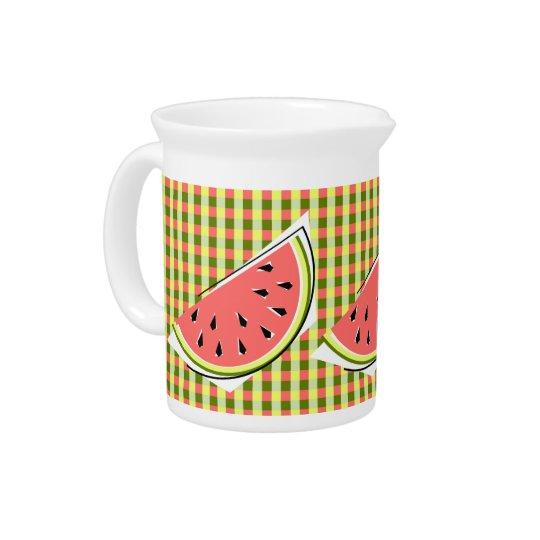 Watermelon Slice Check pitcher