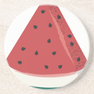 Watermelon Slice Coaster