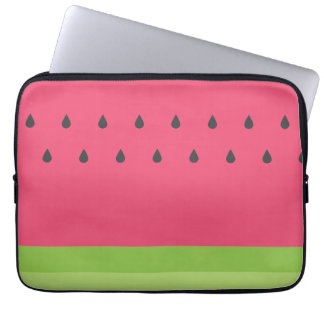 Watermelon Slice Laptop Sleeve