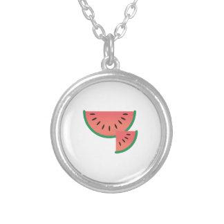 Watermelon Slice Custom Necklace