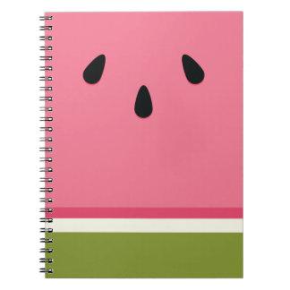 Watermelon Slice Notebook