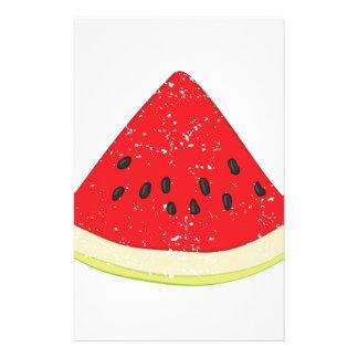 Watermelon Slice Stationery