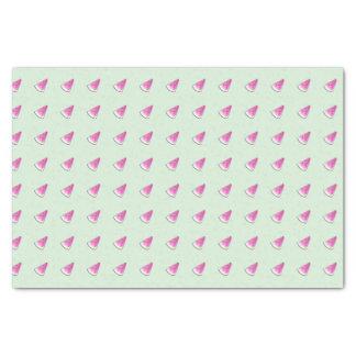 Watermelon slice tissue paper