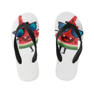 watermelon slippers kid's thongs