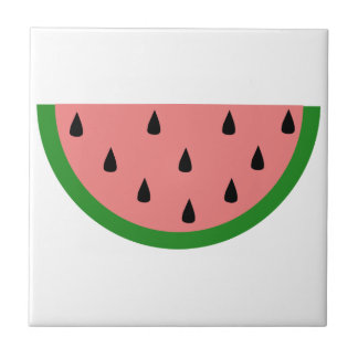 Watermelon Small Square Tile