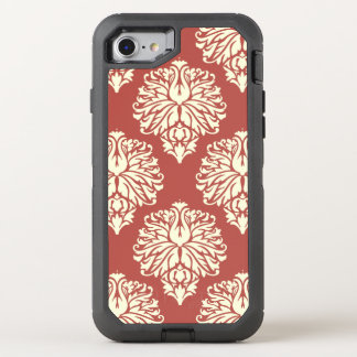 Watermelon Southern Cottage Damask OtterBox Defender iPhone 8/7 Case