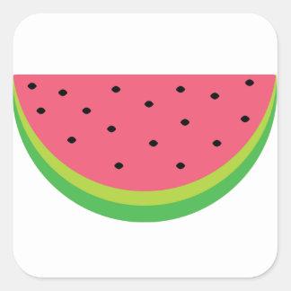 Watermelon Square Sticker
