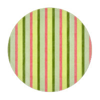 Watermelon Stripe Classic round