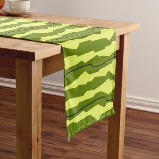 Watermelon Stripe table runner