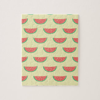 watermelon summer pattern jigsaw puzzle