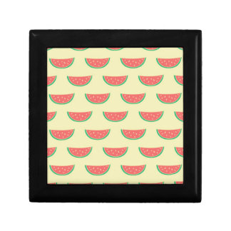 watermelon summertime pattern gift box