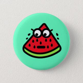 Watermelon Sweat 6 Cm Round Badge