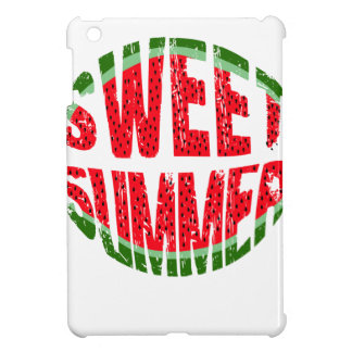 Watermelon - sweet summer iPad mini cases