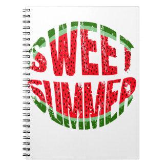 Watermelon - sweet summer notebooks