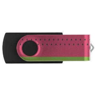 Watermelon Swivel USB Drive
