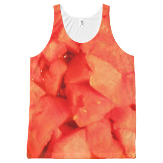 WATERMELON top All-Over Print Tank Top