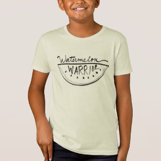 """Watermelon Warrior"" Organic Kids T-Shirt"