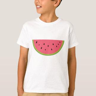 Watermelon Watermelon Fruit Sweet Health Red Half T-Shirt