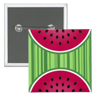 Watermelon Wedgies 15 Cm Square Badge