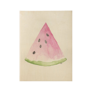 Watermelon Wood Poster