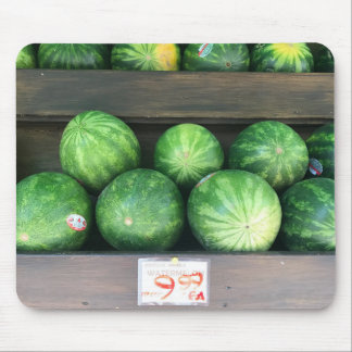 Watermelons for Sale Farmstand Market Melon Fruit Mouse Pad