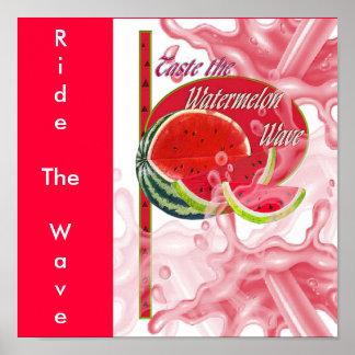 watermelonwave, RideTheWave Poster