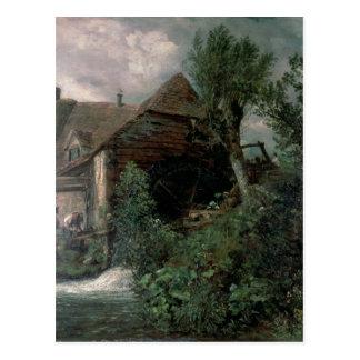 Watermill at Gillingham, Dorset Postcard