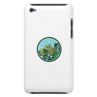 Watermill House Circle Retro iPod Touch Case-Mate Case