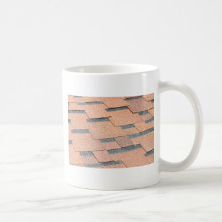 Waterproof fragment of a covering of a roof coffee mug