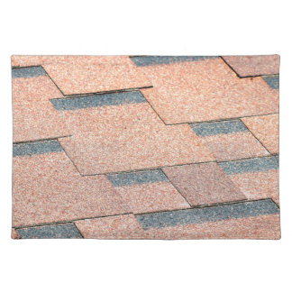 Waterproof fragment of a covering of a roof placemat
