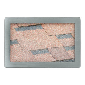 Waterproof fragment of a covering of a roof rectangular belt buckle