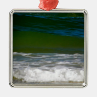 waters edge.JPG Silver-Colored Square Decoration