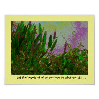 water's edge rumi quotation poster