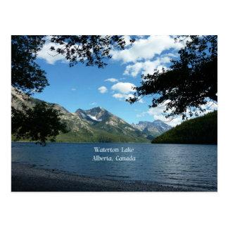 Waterton Lake, Alberta, Canada Postcard