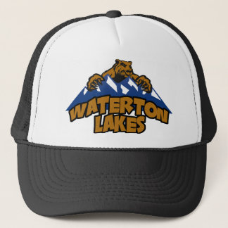 Waterton Lakes Bear Mountain Trucker Hat