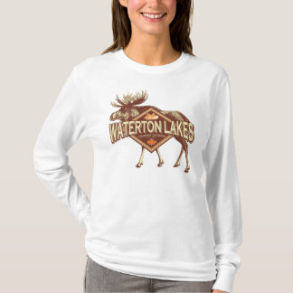 Waterton Lakes Moose T-Shirt