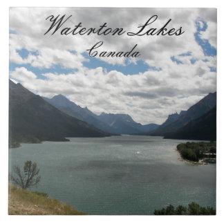 Waterton Lakes National Park Photo Tile