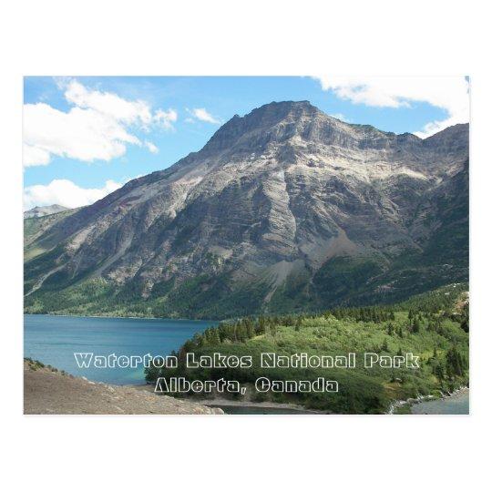 Waterton Lakes National Park Travel Postcard