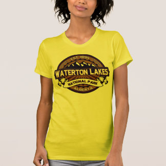 Waterton Lakes Vibrant Logo T-Shirt