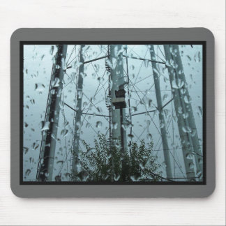 watertower from car mouse pad