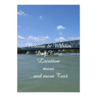 "Waterways, Danube,Austria 5"" X 7"" Invitation Card"