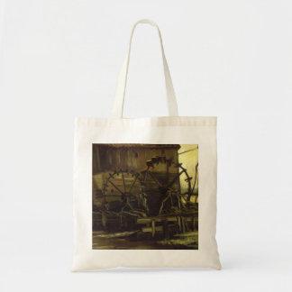 Waterwheels by Vincent van Gogh Canvas Bag