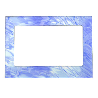 Watery Blue Magnetic Photo Frame