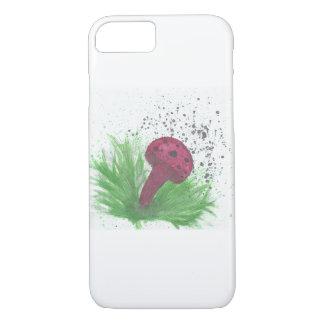Watery Mushroom iPhone 7 Case