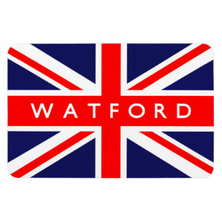 Watford UK Flag Magnet