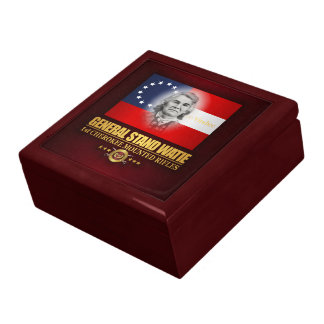 Watie (Southern Patriot) Large Square Gift Box