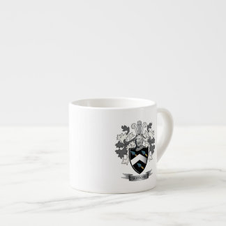 Watkins Family Crest Coat of Arms Espresso Cup