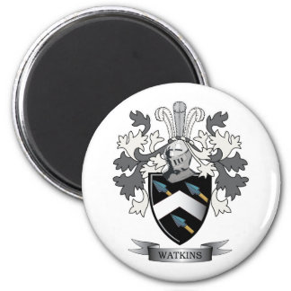 Watkins Family Crest Coat of Arms Magnet