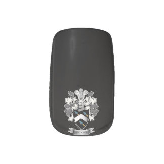 Watkins Family Crest Coat of Arms Minx Nail Art